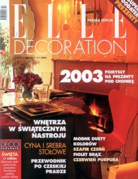 Elle Decor | 2003