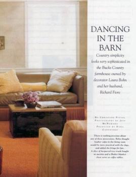 House Beautiful | Dancing In The Barn