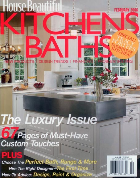 House Beautiful | Kitchens & Baths - Laura Bohn Design ...