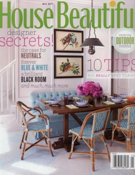 House Beautiful – May 2011