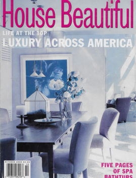 House Beautiful – October 2000