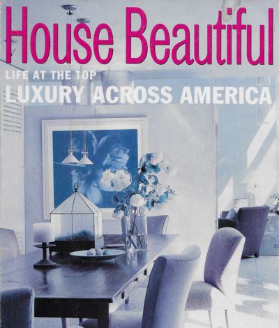 House Beautiful October 2000